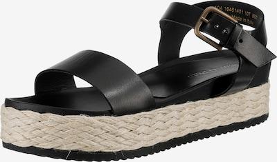 Marc O'Polo Sandale in beige / schwarz, Produktansicht