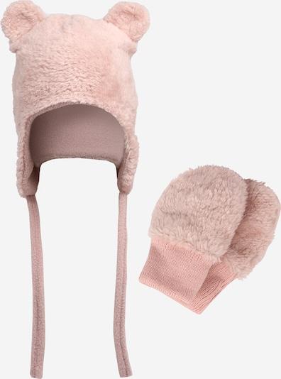 NAME IT Bonnet 'MATUTA' en rose ancienne, Vue avec produit