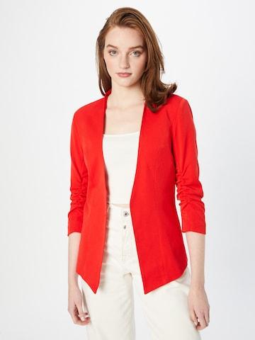 VILA Marynkarka w kolorze czerwony