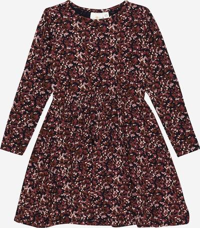 The New Kleid 'VICKS' in sepia / rosa / weinrot / schwarz, Produktansicht