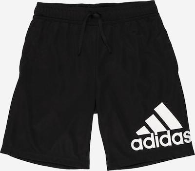 Sportinės kelnės iš ADIDAS PERFORMANCE , spalva - juoda / balta, Prekių apžvalga