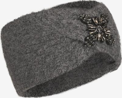 LOEVENICH Stirnband ' Zopf ' in anthrazit, Produktansicht