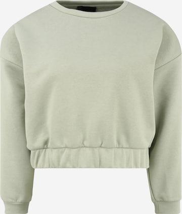 Pieces Petite Sweatshirt 'LIO' in Grün