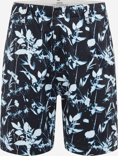 LEVI'S Shorts in rauchblau / opal / schwarz / weiß, Produktansicht
