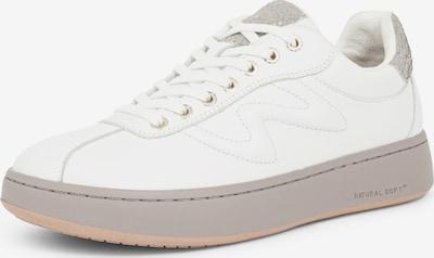 WODEN Sneakers laag 'Astrid' in de kleur Lichtgrijs / Wit, Productweergave