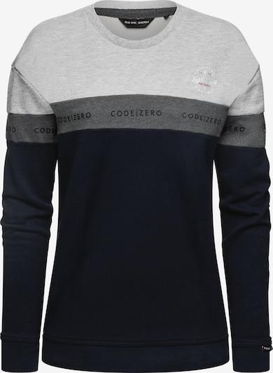 CODE-ZERO Sweatshirt 'Point Belaye' in de kleur Blauw, Productweergave