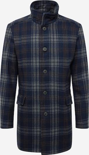 SELECTED HOMME Přechodný kabát 'MORRISON' - námořnická modř / chladná modrá / hnědá, Produkt