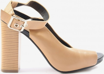 Suiteblanco High Heel Sandaletten in 37 in Beige
