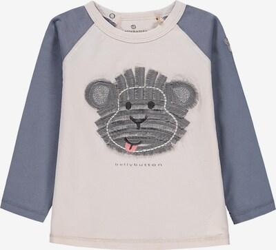 BELLYBUTTON Shirt in beige / blau / grau, Produktansicht