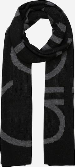 Fular Calvin Klein pe gri / negru, Vizualizare produs