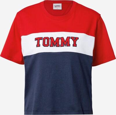 Tommy Jeans Skjorte i blå / rød / hvid: Frontvisning