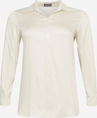 Bluză SAMOON pe roșu orange / negru / alb lână, Vizualizare produs