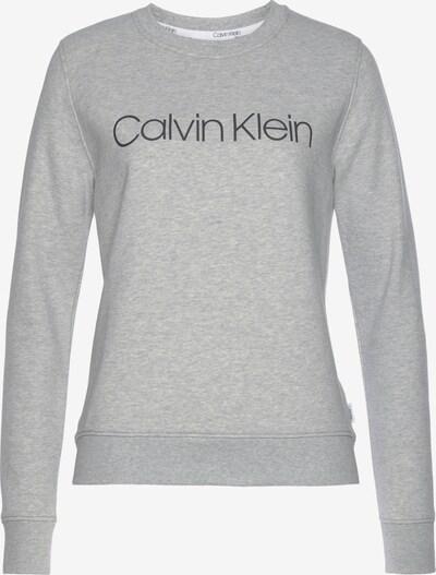 Calvin Klein Sweatshirt in graumeliert / schwarz, Produktansicht