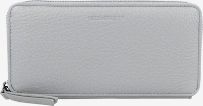 FREDsBRUDER Happy Geldbörse Leder 18 cm in hellgrau, Produktansicht
