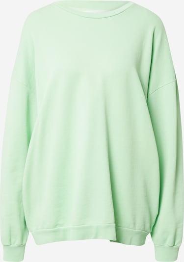 AMERICAN VINTAGE Sweat-shirt 'Feryway' en menthe, Vue avec produit