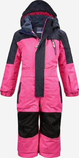 KILLTEC Schneeanzug 'Viewy' in neonpink / schwarz, Produktansicht