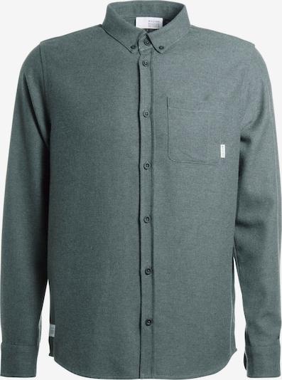 mazine Hemd ' Yarm Shirt ' in dunkelgrün, Produktansicht