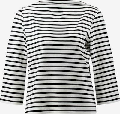 Someday Shirt in schwarz / weiß, Produktansicht