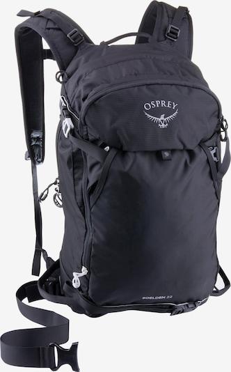 Osprey Sports Backpack 'Soelden 22' in Grey / Black, Item view