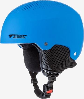 Alpina Helmet 'ZUPO' in Blue
