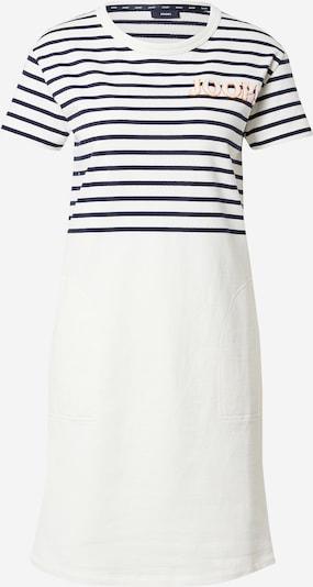 JOOP! Kleid 'Trina' in dunkelblau / orange / weiß, Produktansicht