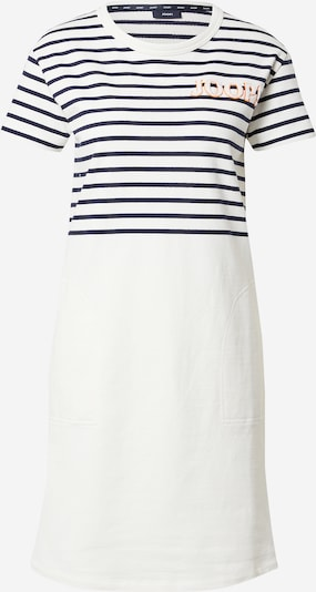 JOOP! Robe d'été 'Trina' en bleu foncé / orange / blanc, Vue avec produit