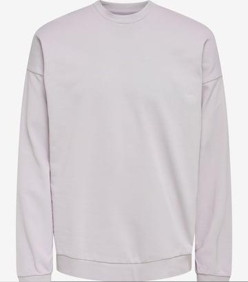 Only & Sons Sweatshirt in Grau