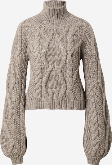 Guido Maria Kretschmer Collection Pullover 'Maike' in greige, Produktansicht