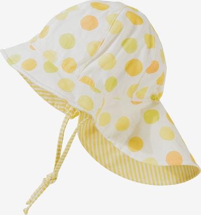MAXIMO Hut in hellgelb / weiß, Produktansicht