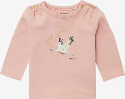 Noppies Shirt 'Severn' in de kleur Goud / Oudroze / Wit, Productweergave