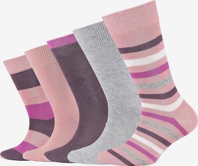 s.Oliver Socks in Grey / Pink / Black / White, Item view