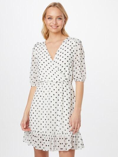 Sublevel Kleid in schwarz / weiß, Modelansicht