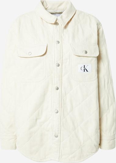 Calvin Klein Jeans Tussenjas in de kleur Eierschaal, Productweergave