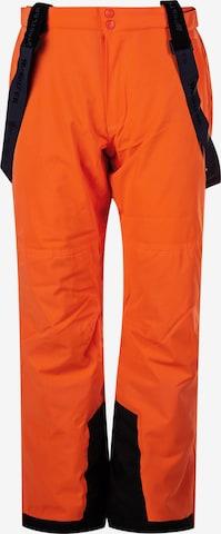 Whistler Skihose 'GIPPSLANG' in Orange