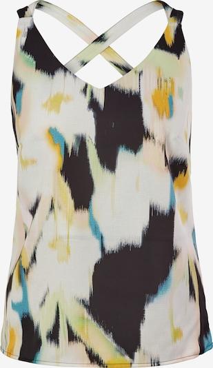 Bluză COMMA pe bleumarin / albastru aqua / galben / verde pastel / alb, Vizualizare produs