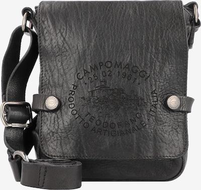 Campomaggi Umhängetasche Leder 18 cm in schwarz, Produktansicht