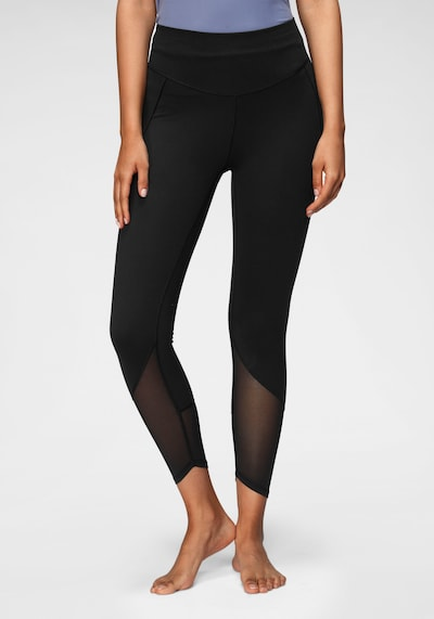 ADIDAS PERFORMANCE Sporthose 'Yoga Power' in schwarz: Frontalansicht