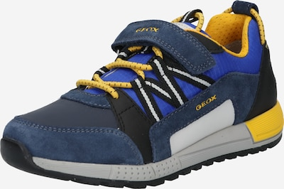 GEOX Trainers 'ALBEN' in Blue / Navy / Yellow, Item view
