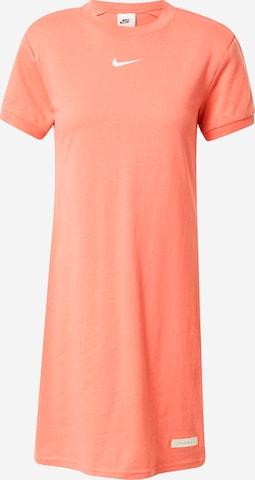 Nike Sportswear Dress in Orange