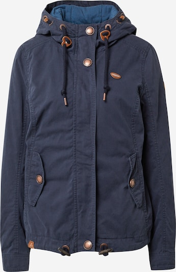 Ragwear Between-season jacket 'RIZZE' in Navy / Brown, Item view