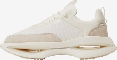 MANGO MAN High-Top Sneakers 'iconic' in Beige / Cream / White, Item view