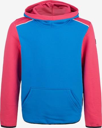 ZigZag Kapuzensweatshirt 'FINK' in Blau