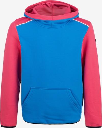 ZigZag Kapuzensweatshirt 'FINK' in blau / rot, Produktansicht
