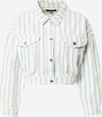 Missguided Jacke 'BOXY' in hellblau / rosa / weiß, Produktansicht