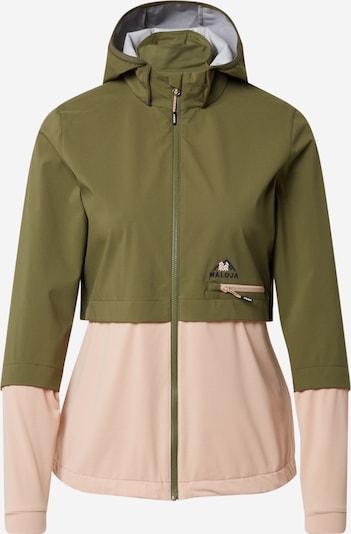 Maloja Športna jakna | oliva / roza barva, Prikaz izdelka
