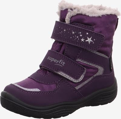 SUPERFIT Snowboots 'CRYSTAL' in purpur / silber, Produktansicht