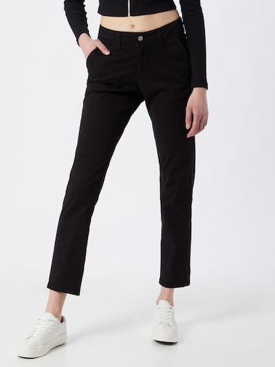 """""""Chino"""" stiliaus kelnės 'SLFMILEY' iš SELECTED FEMME , spalva - juoda, Modelio vaizdas"""