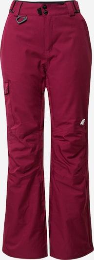 4F Outdoorové kalhoty - burgundská červeň, Produkt