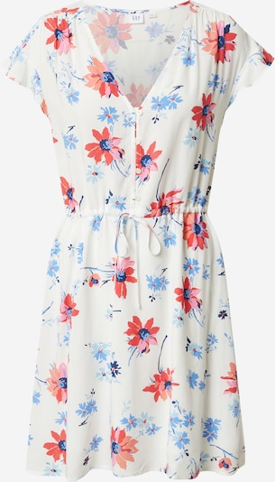 GAP Kleid in mischfarben / weiß, Produktansicht