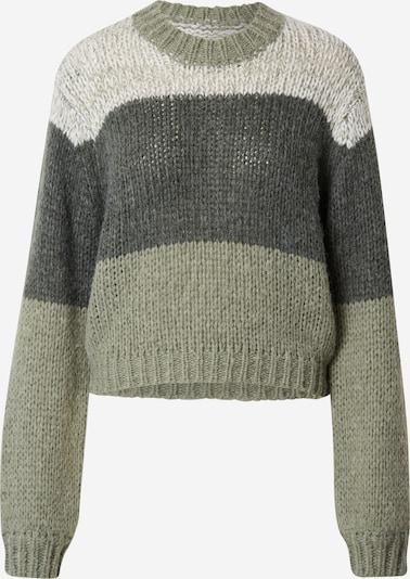 ABOUT YOU x Laura Giurcanu Sweater 'Nia' in Green, Item view